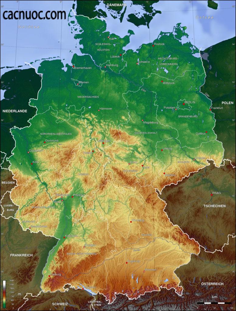 Địa lý nước Đức