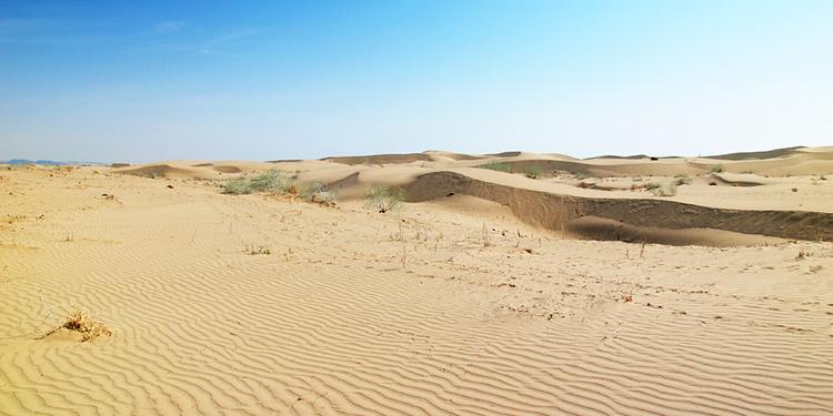Phần lớn diện tích Uzbekistan là sa mạc