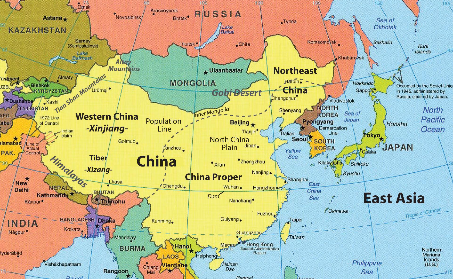 tổng quan các nước Đông Á