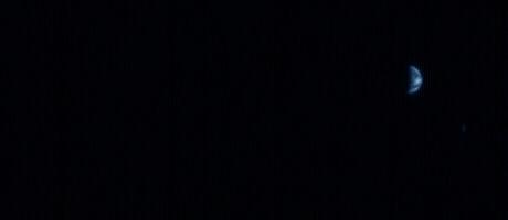 Hành tinh Trái Đất - được nhìn từ quỹ đạo của sao Hỏa.