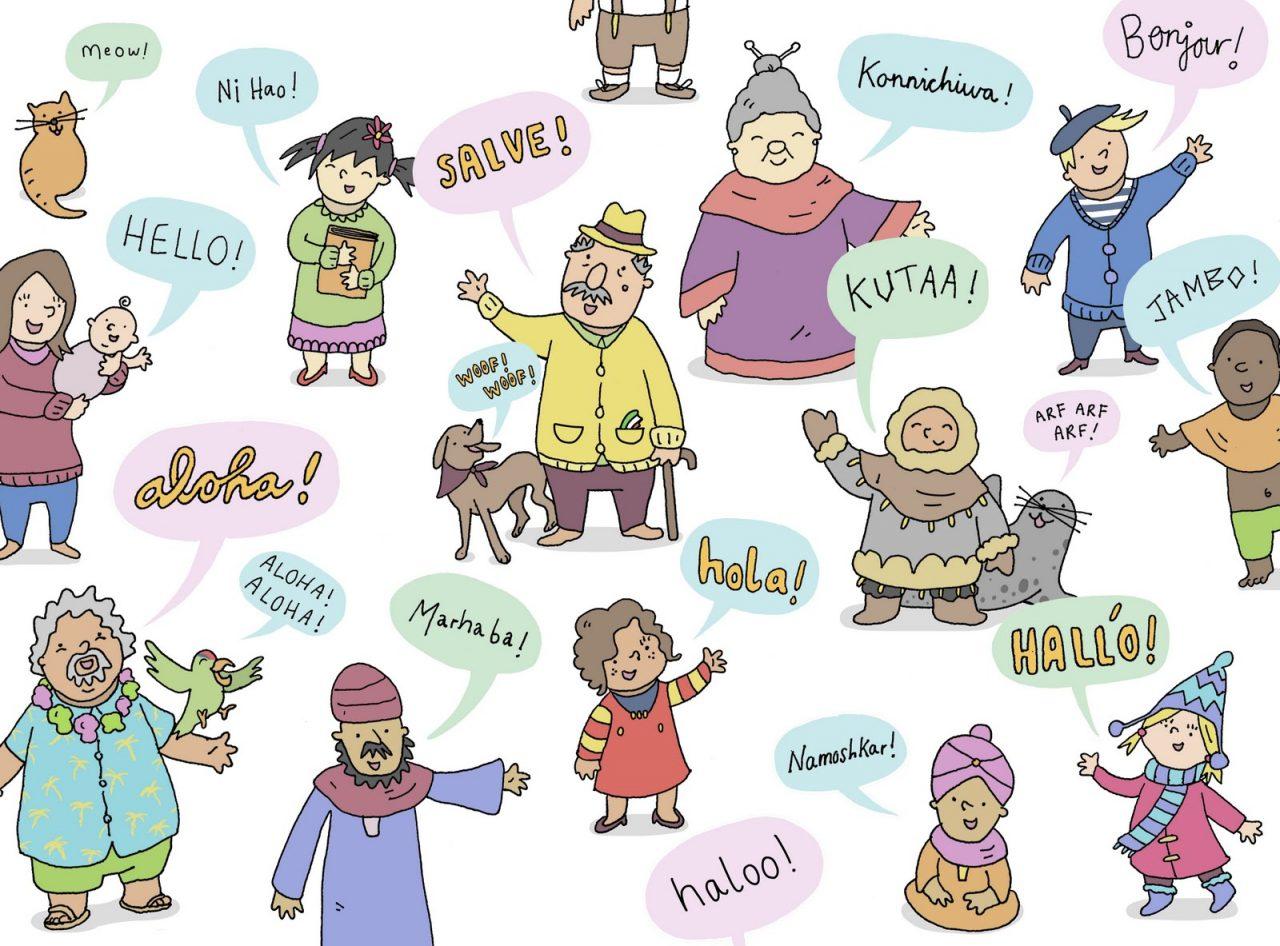 Nói Xin chào bằng các ngôn ngữ trên thế giới