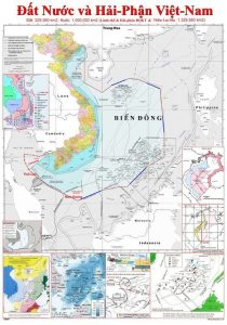 bản đồ biên giới việt nam
