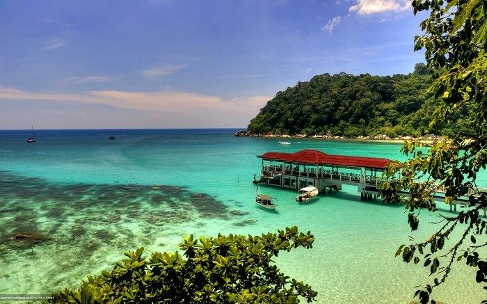 maylaysia có rất nhiều đảo đẹp tự nhiên