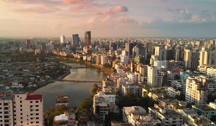 dhaka lớn thứ 5 với 14,5 triệu dân