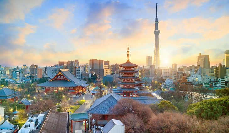 tokyo lớn thứ 6 với 13,6 triệu dân