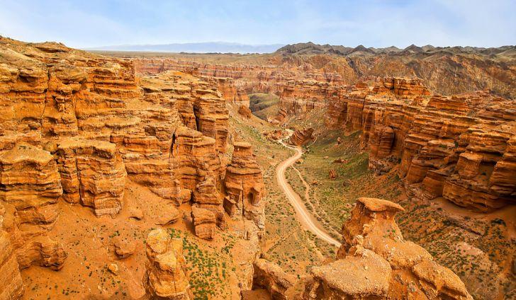 kazakhstan quốc gia lớn thứ 9 thế giới