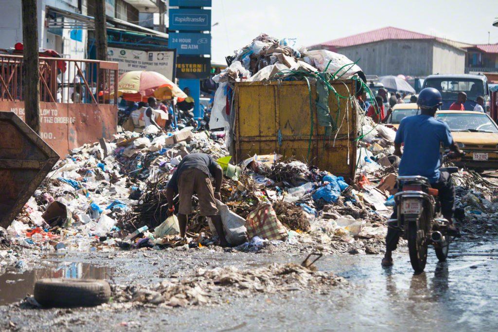liberia nghèo thứ 7 thế giới