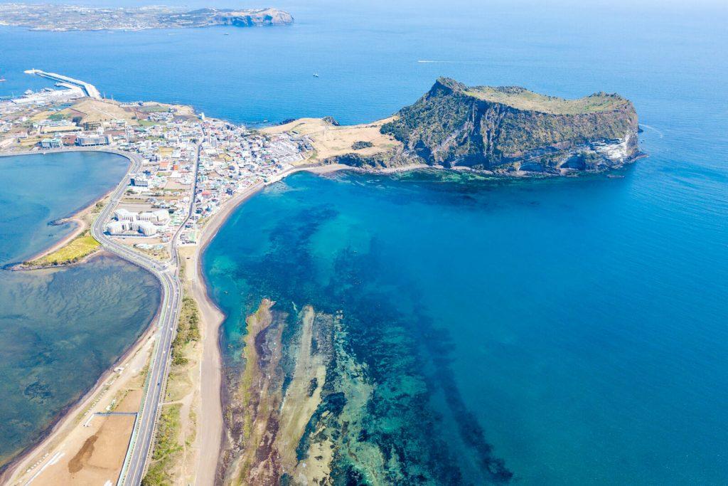 đảo jeju rất thu hút khách du lịch