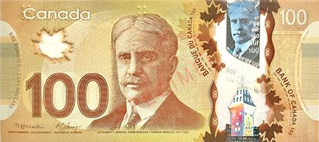đôla canada giá trị thứ 10 thế giới