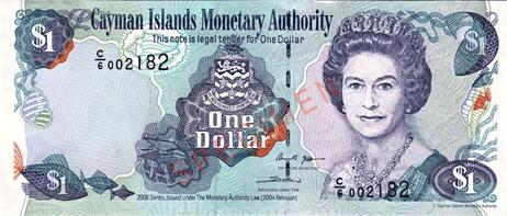 đôla quần đảo cayman mệnh giá thứ 5