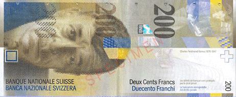 frank thụy sĩ đồng tiền duy nhất nhìn dọc