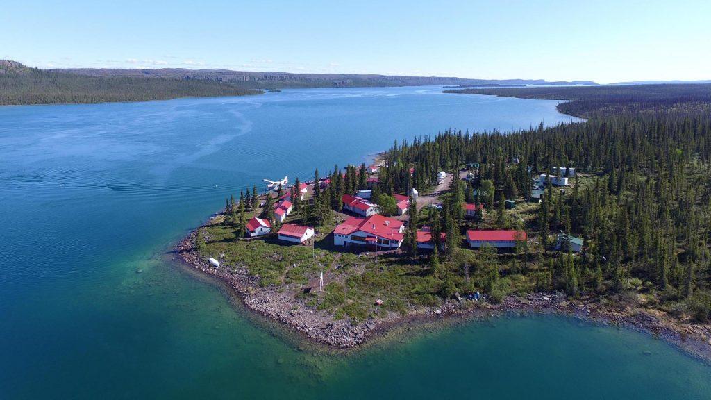 hồ Great Slave lớn thứ 10 thế giới