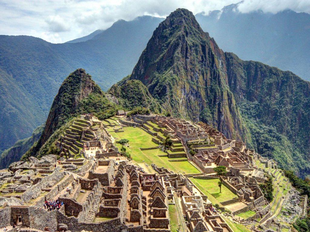 Machu Picchu ở Peru