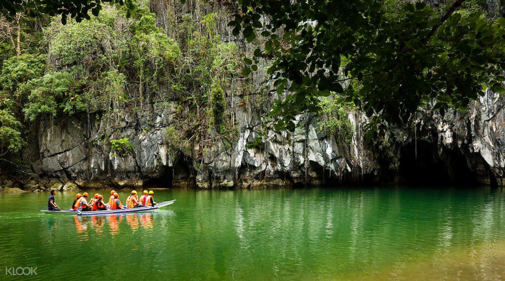 sông ngầm Pueerto Princesa ở Philippines