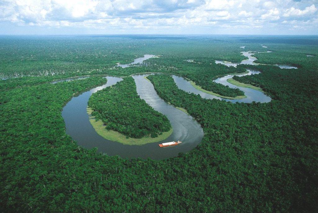 sông amazon một trong 7 kỳ quan thiên nhiên