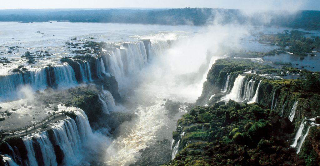 thác Iguaza là kỳ quan thiên nhiên mới