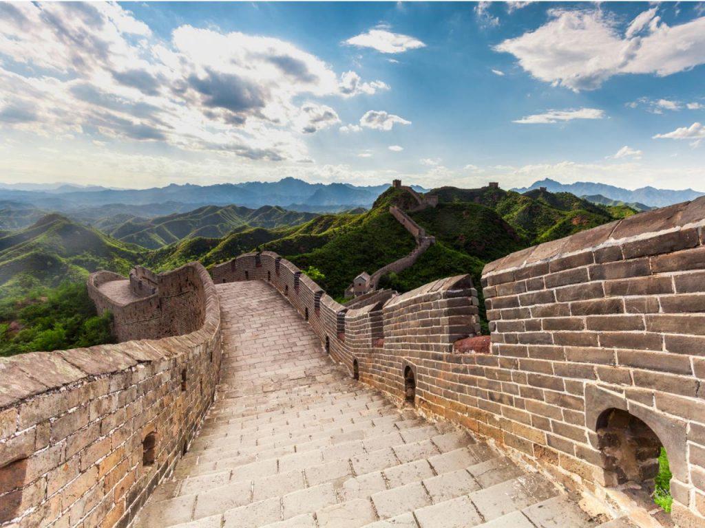 vạn lý trường thành đứng đầu trong 7 kỳ quan thế giới mới