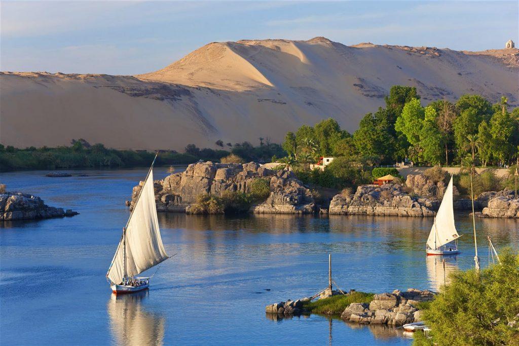 Sông Nile là con sông dài nhất thế giới