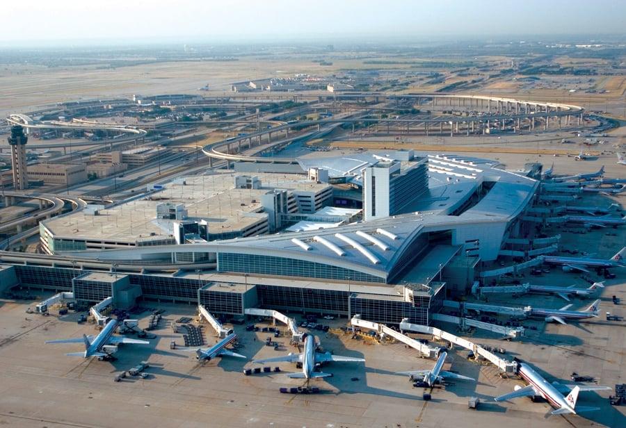 Sân bay quốc tế Dallas lớn thứ 3 thế giới