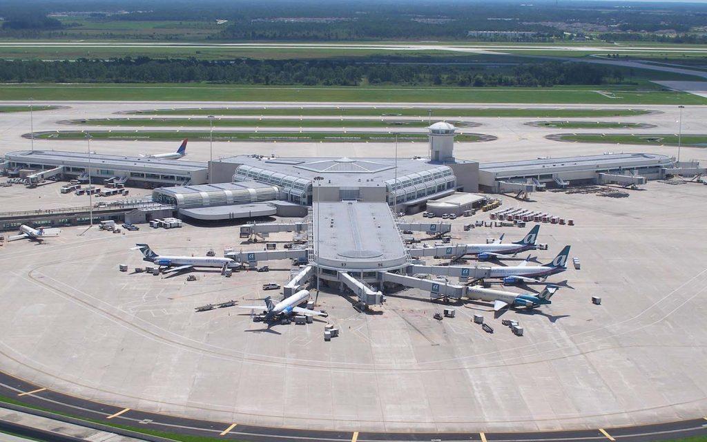 Sân bay quốc tế Orlando lơn thứ 4 thế giới