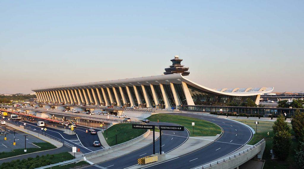 Sân bay quốc tế Washington Dulles lớn thứ 5
