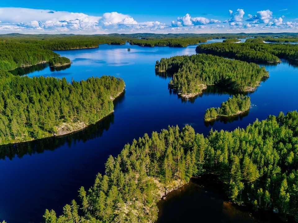 phần lan vùng đất ngàn hồ