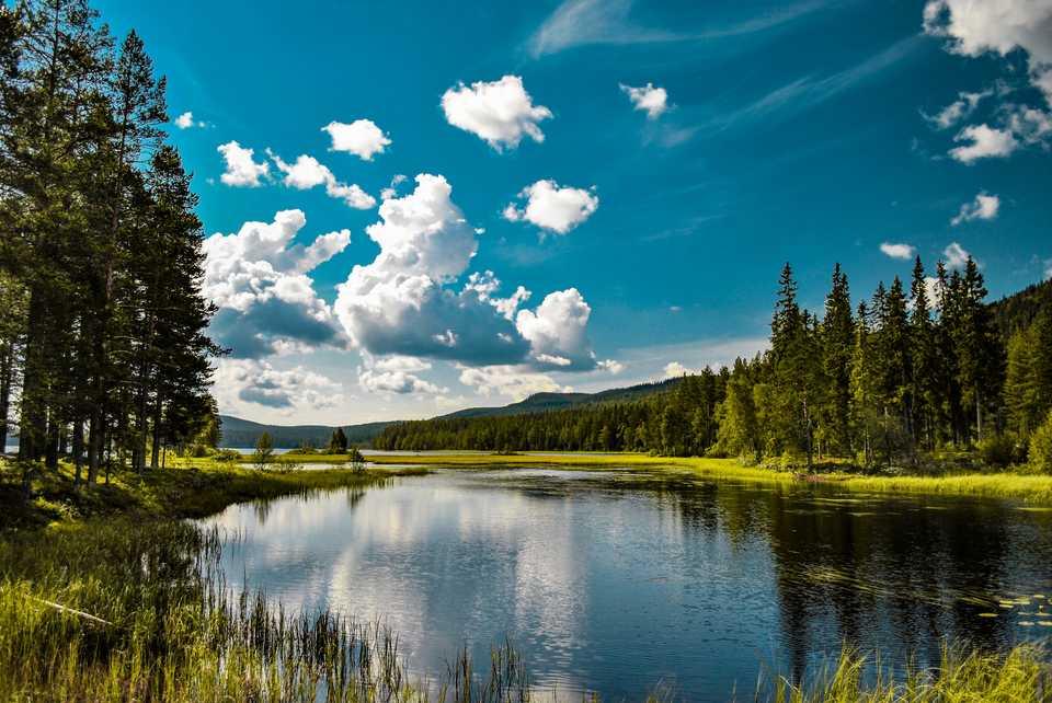 thụy điển là quê hương rất nhiều hồ