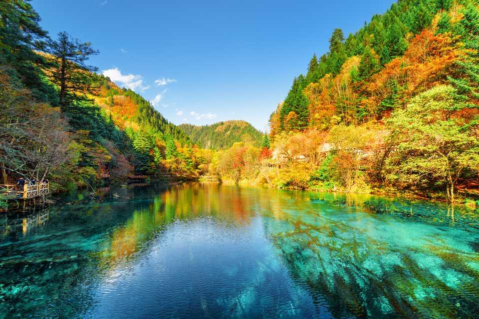 trung quốc có rất nhiều hồ nước