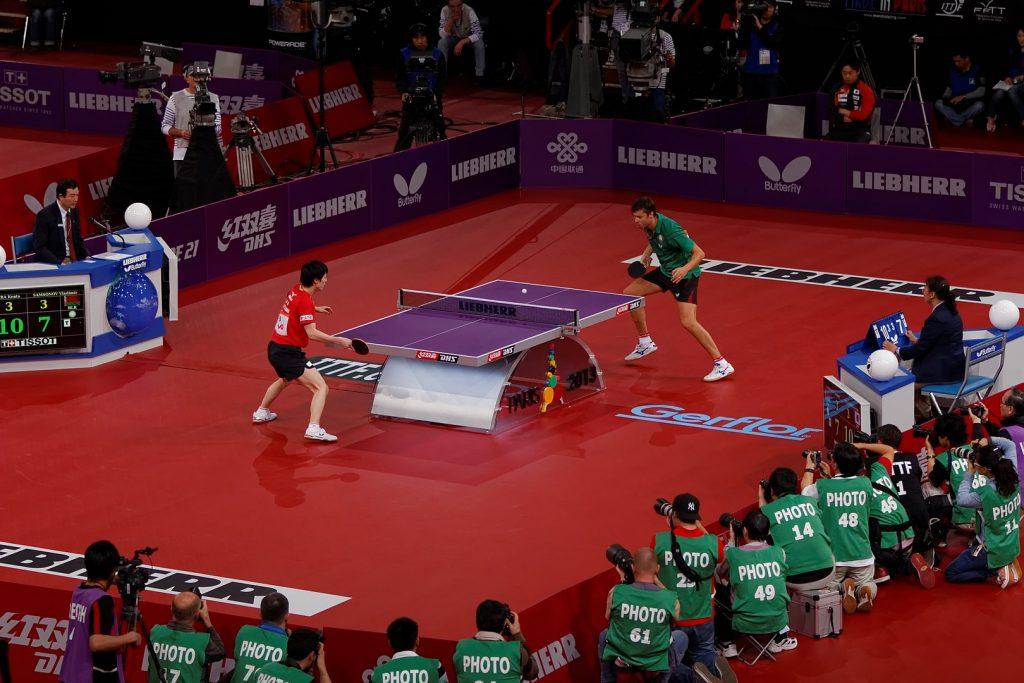 Bóng bàn môn thể thao phổ biến thứ 7 trên thế giới